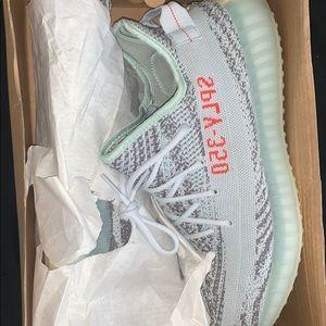 adidas Shoes - Blue tint yeezy v2